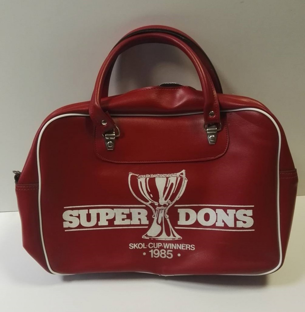 """Super Dons"" 1985 SKOL Cup Winners Bag"