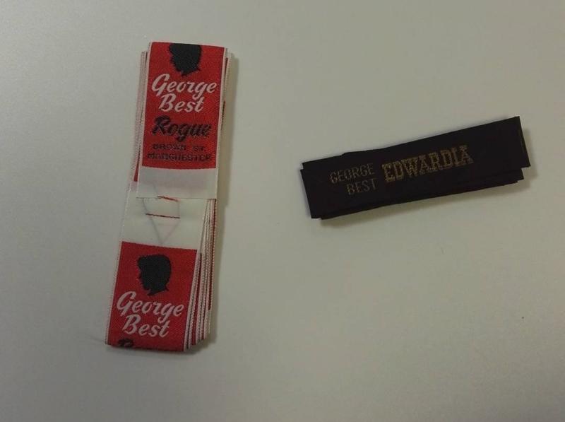 George Best 'Edwardia' Clothing Tags