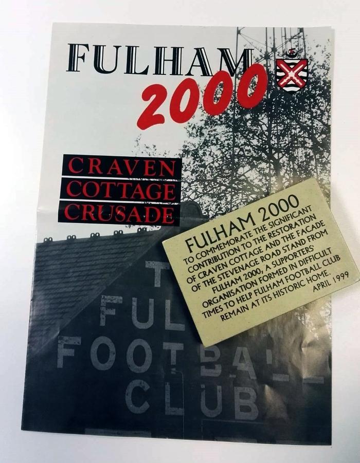 Fulham FC 2000 Brick