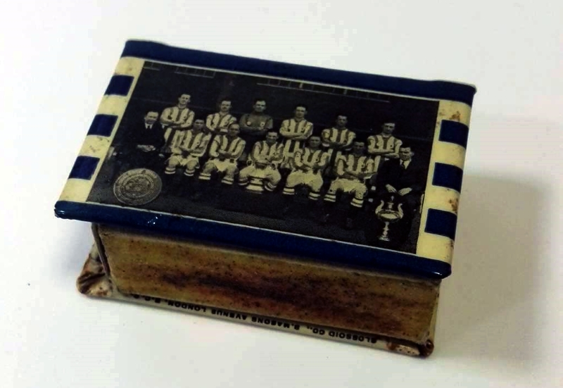 Huddersfield Town FC 1922-23 Matchbox Holder