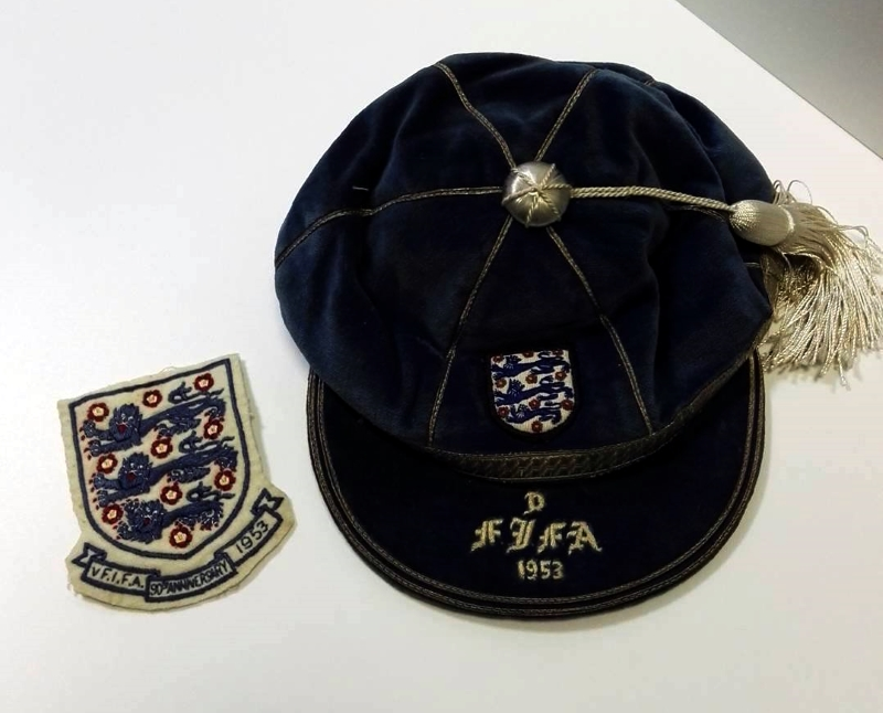 Sir Alf Ramsay - FA 90th Birthday England Cap & Shirt Badge