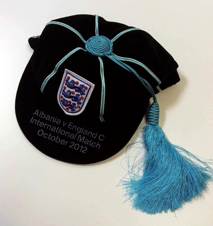 England C International Cap - Versus Albania U21 2012