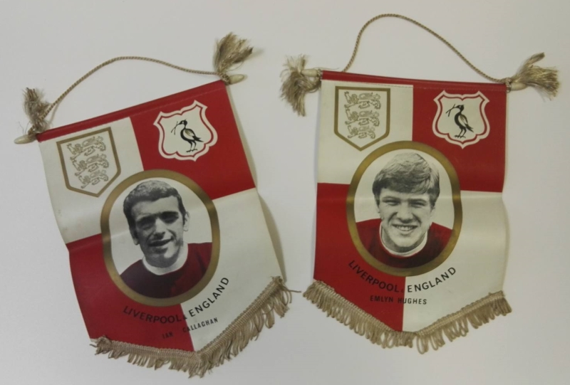 Callaghan & Hughes Liverpool Supporters Pennants