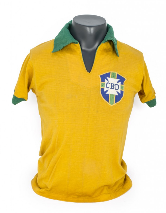 Pele world cup shirt collector