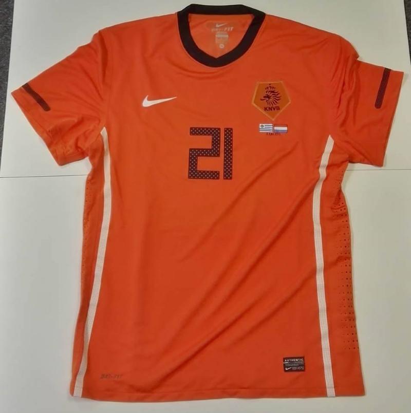 Wijnaldum Holland International Shirt - Uruguay 2011