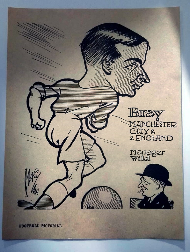 Jackie Bray Caricature 1930s