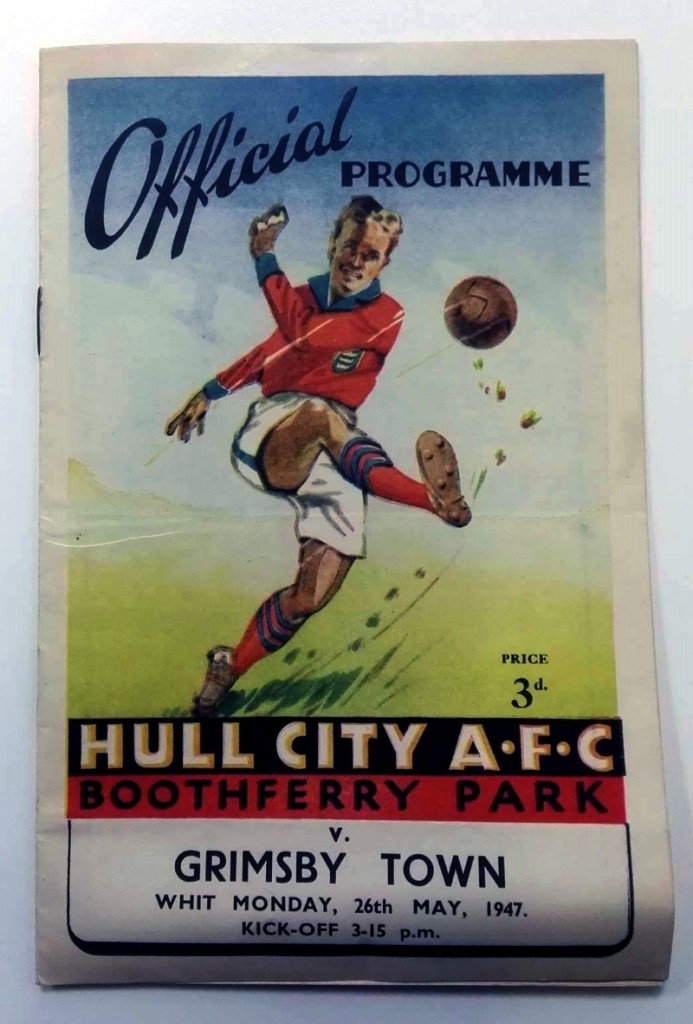 Signed Hull City v Grimsby Town 1947 Programme