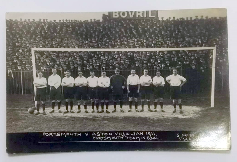 Portsmouth FC 1911 FA Cup Team Photo