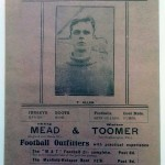 Southampton v Portsmouth March 1922 Programme front