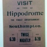 Southampton v Portsmouth March 1922 Programme rear