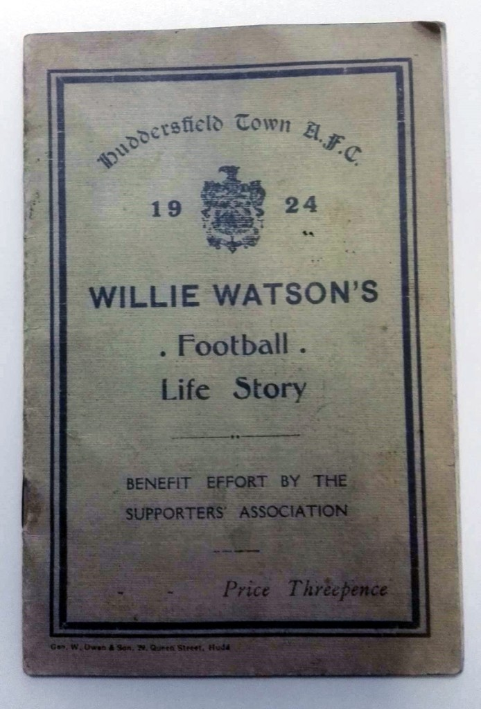 Willie Watson's Football Life Story