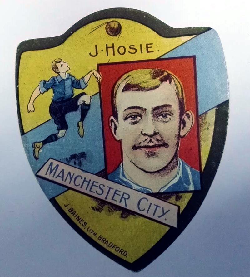 Baines Gold Medal Football Card - James Hosie