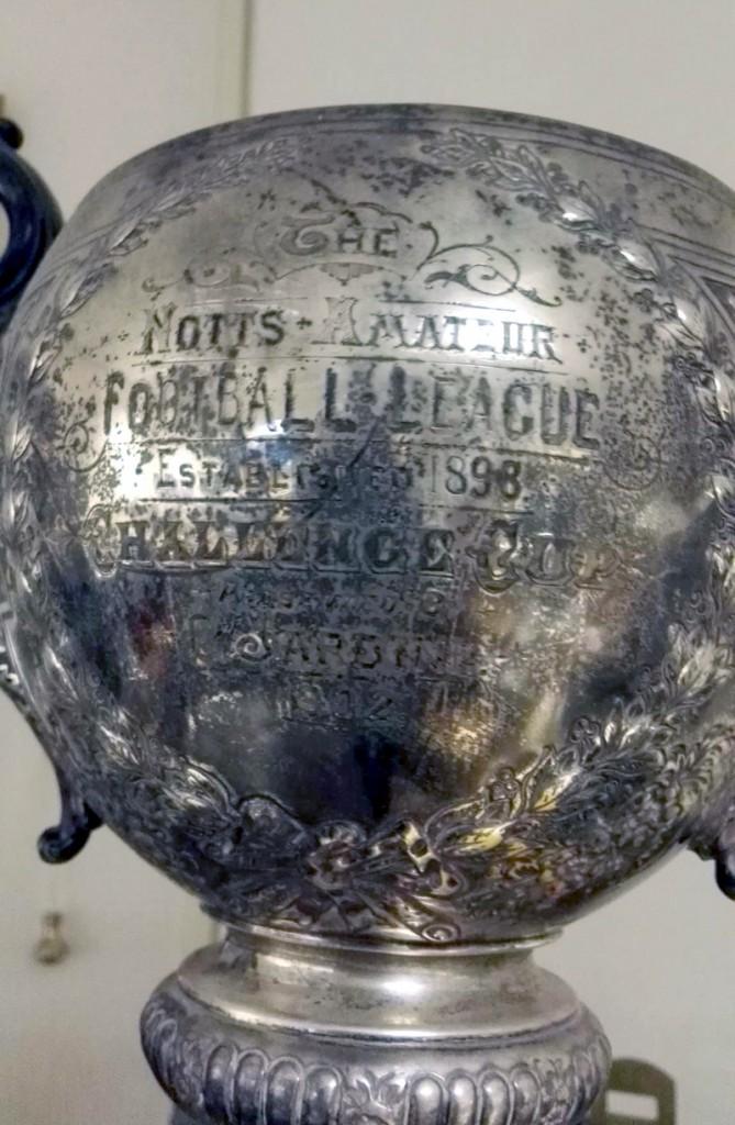 Nottinghamshire Amateur Challenge Cup Trophy 1902