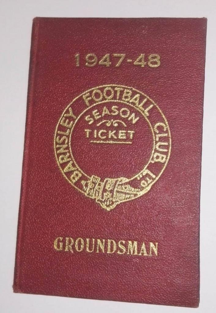 Barnsley Groundsman Season Ticket 1948/49