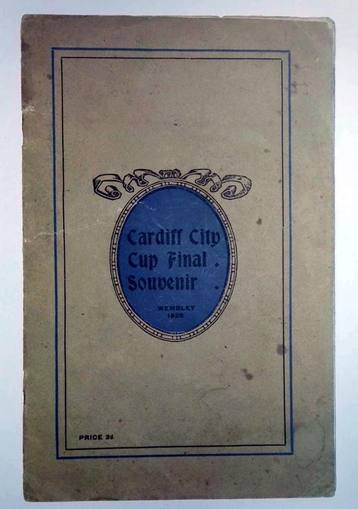 Cardiff City FA Cup Final 1925 Souvenir Programme