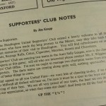 Headington United vs Bolton FA Cup 1954 Programme inner 2