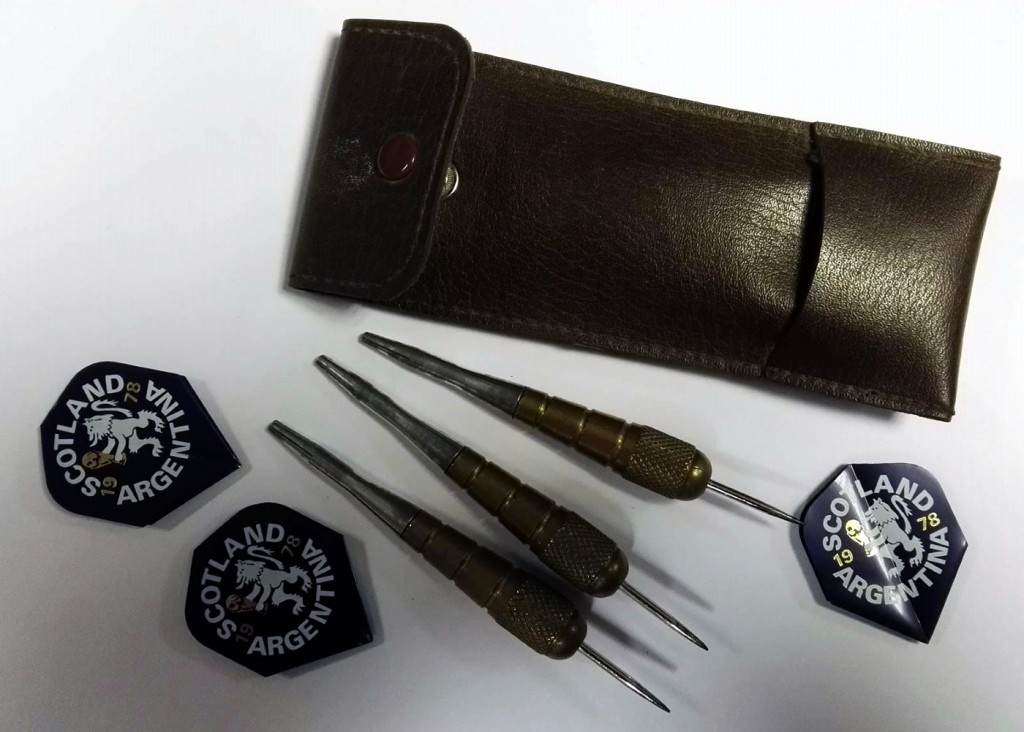 Scotland World Cup 1978 Brass Darts