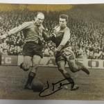 France vs Spain 1958 Signed Menu & Photos 1