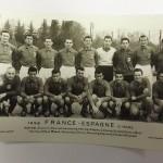 France vs Spain 1958 Signed Menu & Photos 2