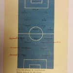 Aston Villa vs Dinamo Tblisi Programme 1961 Rear