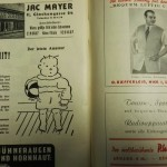 Austria vs England Programme Inner 1 May 1952
