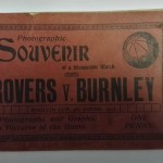 Blackburn Rovers vs Burnley FA Cup Souvenir 1913 Front