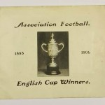 English Cup Winners 1883 - 1906 Booklet Front