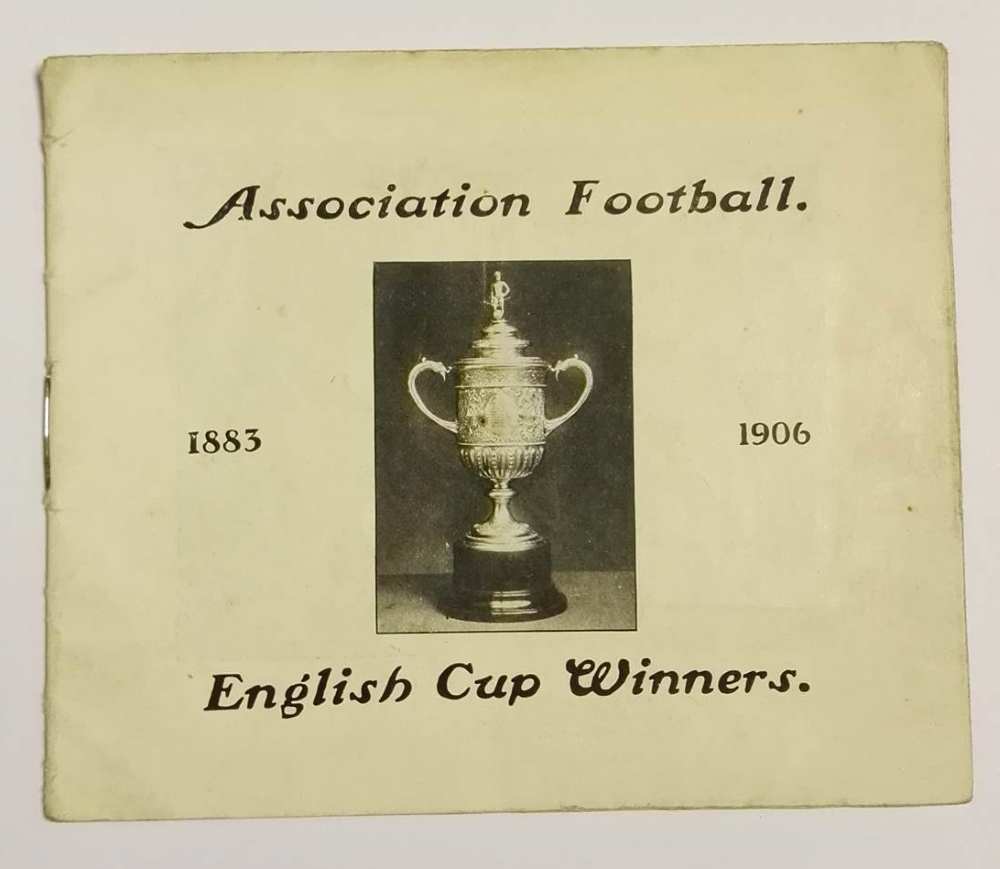 English Cup Winners 1883 - 1906 Booklet