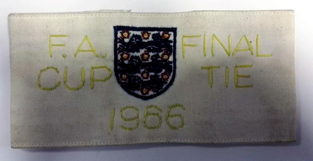 FA Cup Final 1966 Stewards Armband