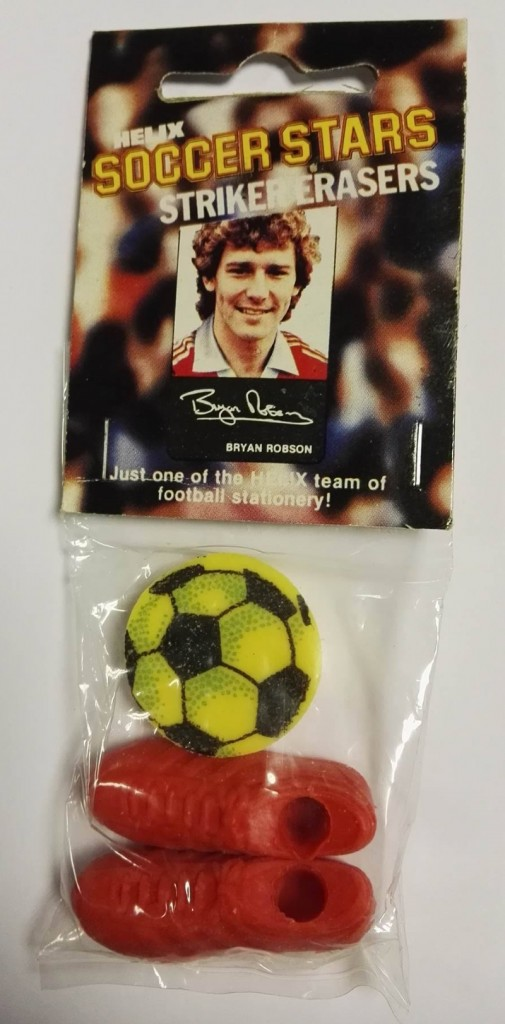 Helix 'Soccer Stars' Striker Erasers