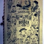 Sunderland AFC Signed Dinner Menu 1936 Front
