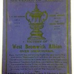 FA Cup Final Souvenir Postcards 1931 - West Brom Victorious