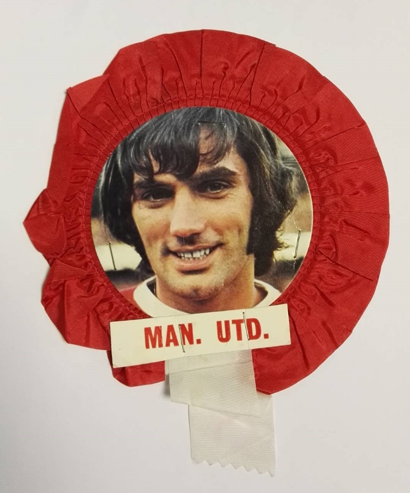 Football rosette collector