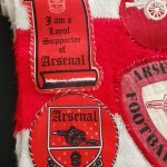 Arsenal FC Supporter Scarf - Close 2