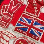 Arsenal FC Supporter Scarf - Close 3