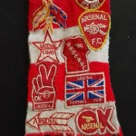 Arsenal FC Supporter Scarf - Full Front