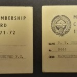 Manchester United PFA Membership Cards 1971-72 - 12
