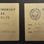 Manchester United PFA Membership Cards 1971-72 - 14