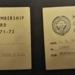 Manchester United PFA Membership Cards 1971-72 - 4