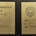 Manchester United PFA Membership Cards 1971-72 - 8