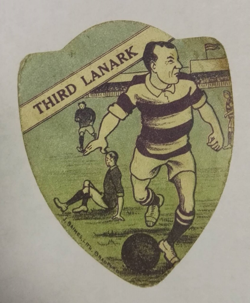 Third Lanark AC Baines Football Card