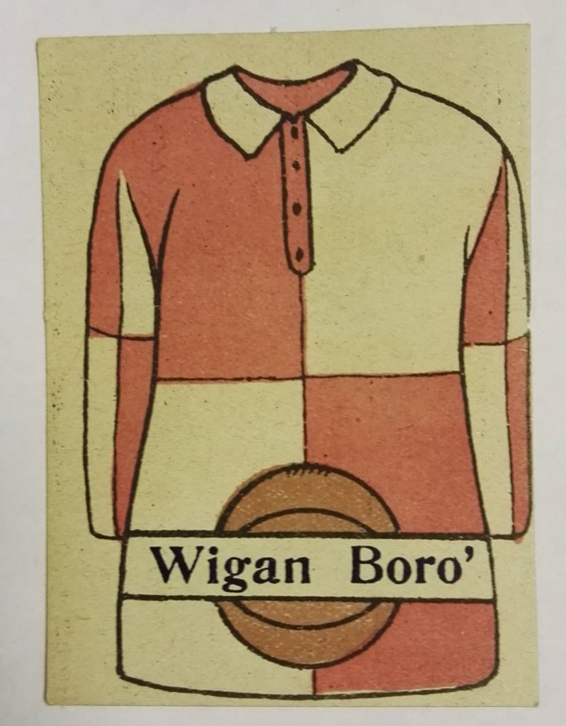Wigan Borough Ripley Bros Trading Card 1920s