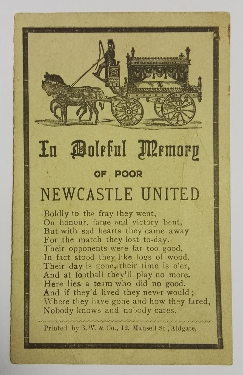 football memorial postcard collector