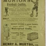 Newcastle United vs Middlesbrough Official Programme March 1912 rear