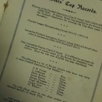 Blackburn Rovers Jubilee Dinner Signed Menu 1925  Inner
