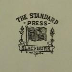 Blackburn Rovers Jubilee Dinner Signed Menu 1925 printer