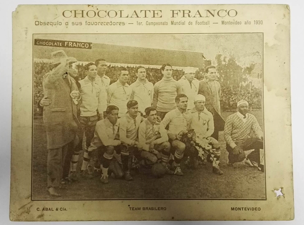 Chocolate France World Cup Final 1930 Football Cards Brazil