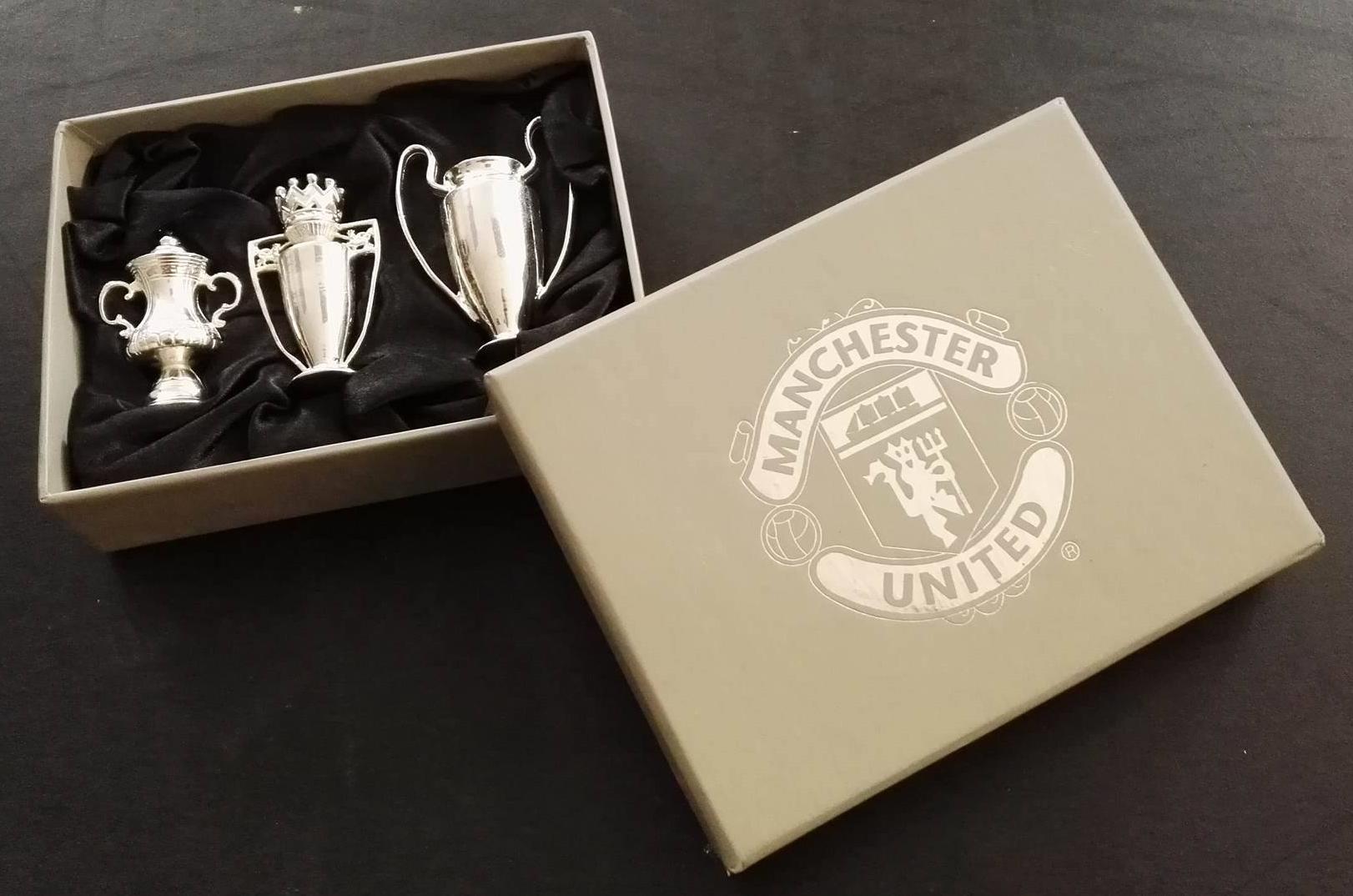 Manchester United treble memorabilia