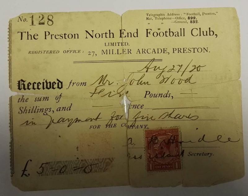 Preston North End shareholders
