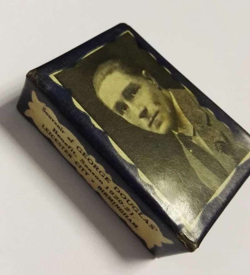 George Harold Douglas Benefit Souvenir Matchbox Cover 1920/21